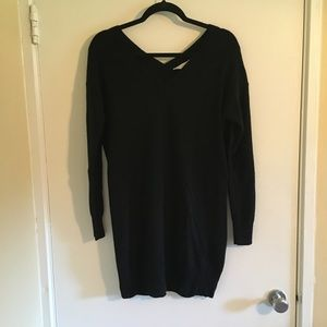 Black Everlane Cashmere Sweater Dress